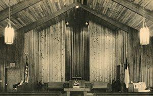 Faith Evangelical Free Church of Robbinsdale upon its dedication, circa 1966